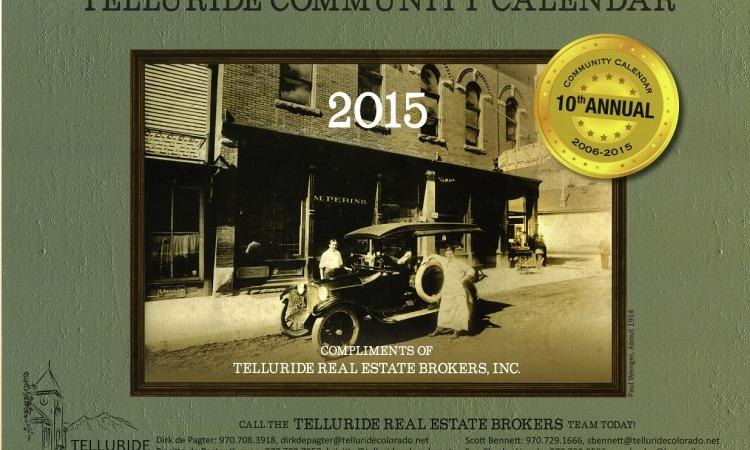 Telluride Community Calendar
